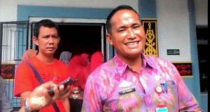 Sekretaris Dinas Kesehatan Lampung Utara, Edi Kusnadi