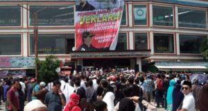 Deklarasi Gerakan Nasional Prabowo Presiden (GNPP) di Bandarlampung, Jumat (7/9/2018).