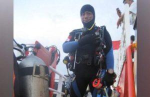 Penyelam bernama Syahrul Anto meninggal saat ikut dalam pencarian pesawat Lion Air JT 610 di perairan Karawang, Jawa Barat, Jumat, 2 November 2018. Syahrul merupakan penyelam sipil dari Indonesia Diving Rescue Team (IDRT). Facebook.com/@Syachrul Anto