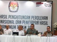 Rapat Pleno KPU RI, Senin, 20 Mei 2019.
