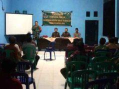 Suasana penyuluhan hukum dalam TMMD ke-105 di Lampung Utar