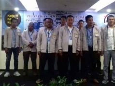 Pelantikan pengurus Pakklindo Lampung.