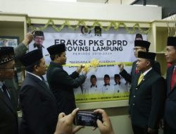 Dilantik, Anggota DPRD Lampung Fraksi PKS Dorong Prioritas Pembangunan
