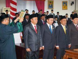 Empat Pimpinan DPRD Lampung Selatan Resmi Dilantik