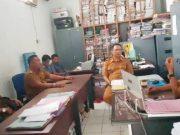 Pengurus Apdesi Lampung Utara mempertanyakan pembayaran ADD tahun 2019 kepada BPKA,Senin (21/10/2019).