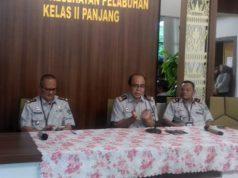 Kepala Kantor Kesehatan Pelabuhan Kelas II Panjang, Lampung, Marjunet Danue, menjelaskan kesiapan Pelabuhan Panjang menangkap penyebaran virus corona.