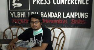 Wakil Direktur LBH Bandarlampung, Chandra Bangkit Saputra