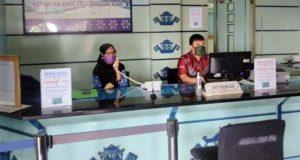 Front office PDAM Way Rilau Kota Bandarlampung.