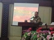 Ketua KPK Firli Bahuri pada acara Rakor Pencegahan Korupsi dengan Pemerintah Daerah se-Provinsi Lampung, yang berlangsung di Kota Bandarlampung, Kamis, 6 Agustus 2020.
