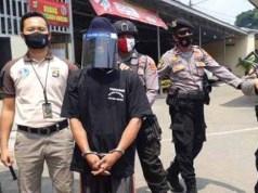 Tersangka Tantra Kurniawan (31), warga Dusun Margorejo II, Kecamatan Natar, Lampung Selatan ditangkap Satres Narkoba Polres Metro. (Foto : Istimewa)