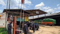 Pabrik pengolahan tapioka CV Central Intan di Lampung Timur.