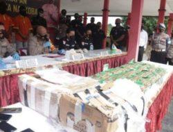 Polda Kepri Ungkap Puluhan Kilo Sabu Asal Malaysia Disimpan di Mushola