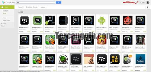 BBM Android Google Play