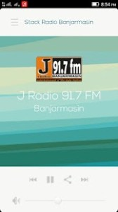 Aplikasi Streaming Radio Banjarmasin