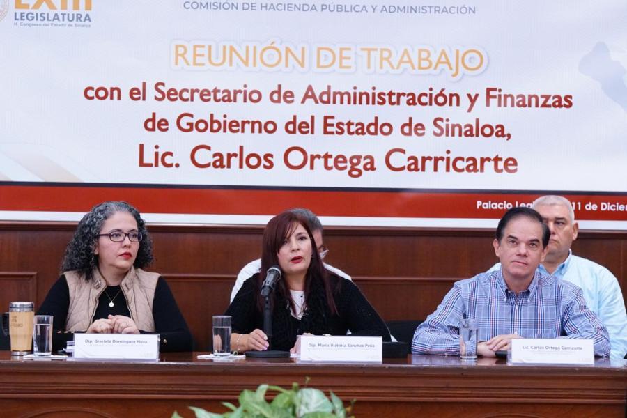 Vamos por un presupuesto con enfoque social: diputadas a Carlos Ortega Carricarte