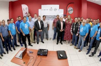 DIF Sinaloa capacita a operadores de la Ruta Azul