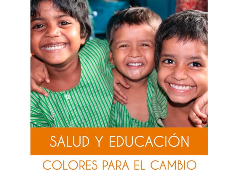 Diseño de Roll Up Fundación Colores de Calcuta - terecarbonell