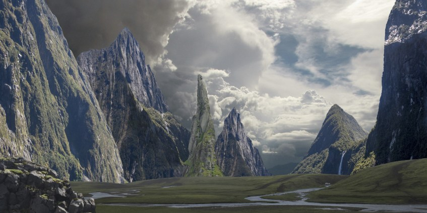 Boceto Matte Painting
