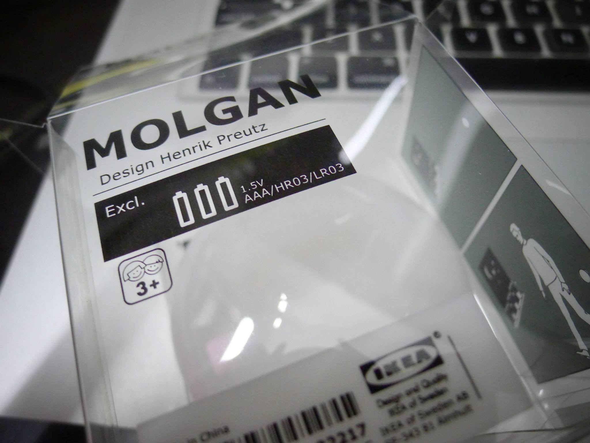Esp8266 Ikea Molgan Light Hack Hardware Terenceang Circuit Breaker Labels Ebay My Original Plan Was To Use An Cheap Pir And 3d Printed Case For This Project But I Happen Have A Spare Lying Around