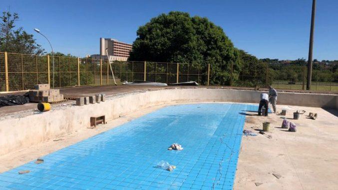 Após reforma, piscinas voltarão a ser atração em parques de Campo Grande