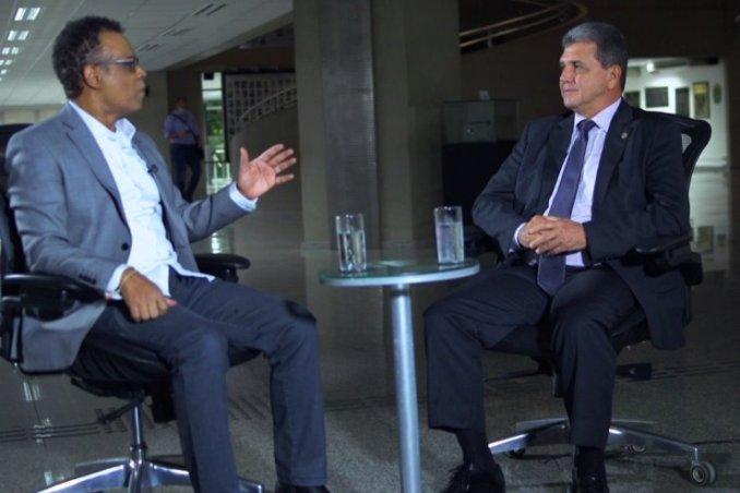 Programa da TV ALEMS entrevista presidente da Câmara Municipal de Campo Grande