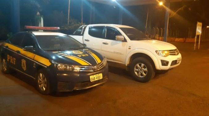PRF em Rio Brilhante recupera dois veículos com registro de roubo/furto