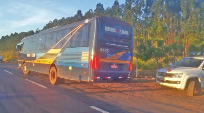 Agepan aborda mais de 120 veículos em fiscalização contra o transporte clandestino