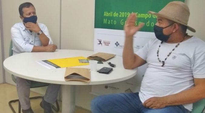 Comunidade indígena recebe informações sobre Nota MS Premiada na língua Terena
