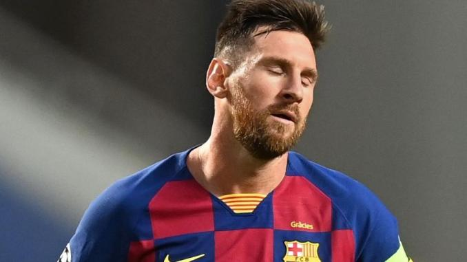 """Barcelona leva """"surra"""" dos alemães e é goleado por 8 a 2"""