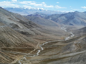 From the approach to Tanglang La Pass, Ladakh India