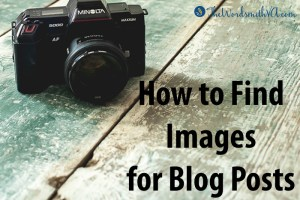 How to Find Images for Blog Posts