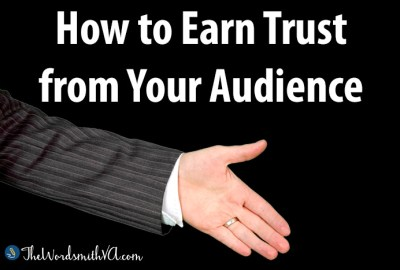 How to Earn Trust from Your Audience