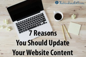 7 Reasons You Should Update Your Website Content