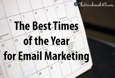 The Best Times of the Year for Email Marketing