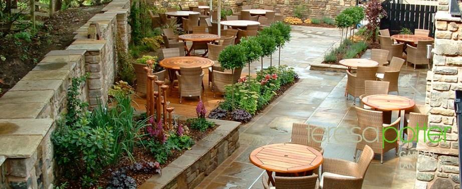 Teresa Potter Garden & Landscape Design - Pub Gardens