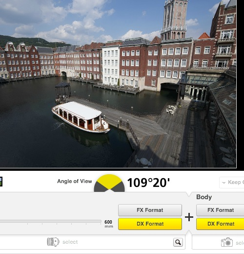 Nikon lens simulator