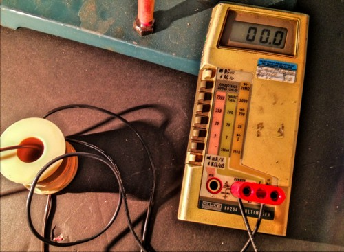 Experiment in inductance