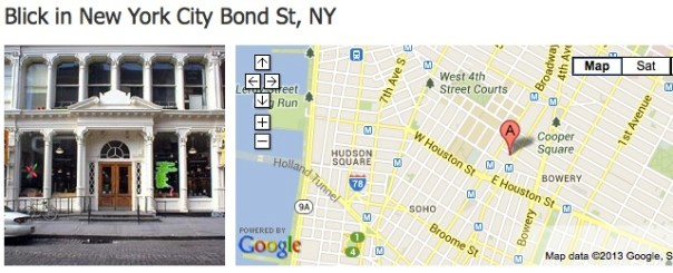 Dick Blick, Bond Street