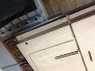 Shelf/support in progress
