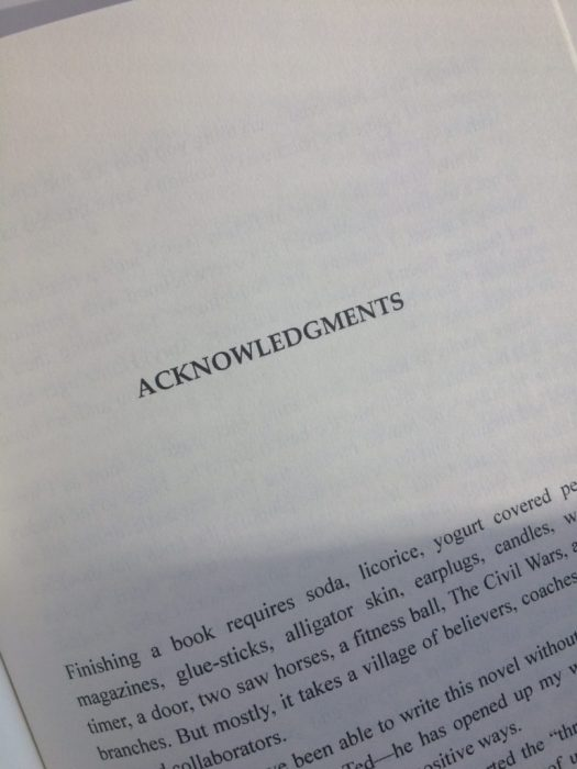 Tiger Drive Acknowledgments