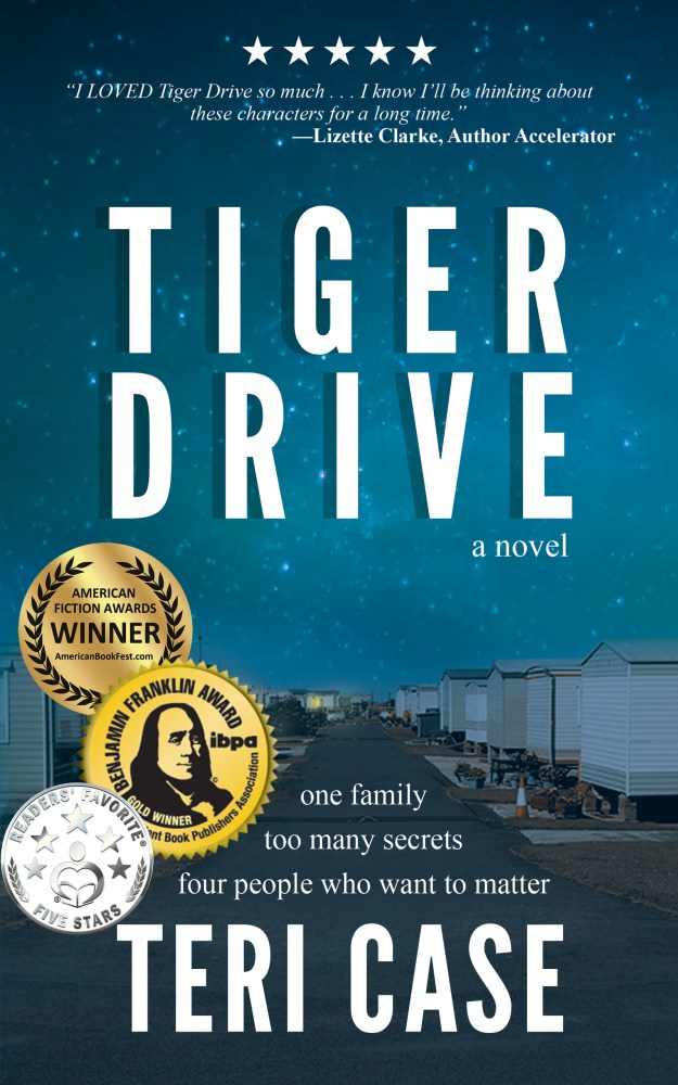 Tiger Drive by Teri Case (Cover)