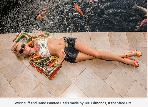 MauiTime Exclusive Fashion Interview with Teri Edmonds of If The Shoe Fits