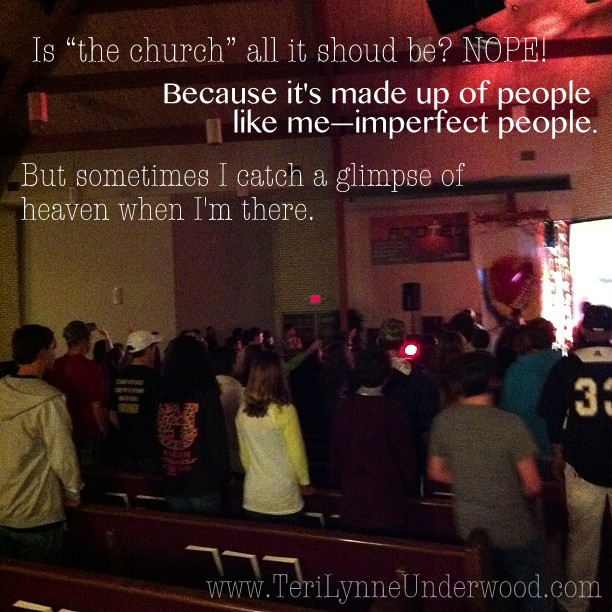 thoughts on the church www.terilynneunderwood.com