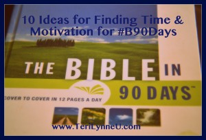 #B90Days Finding Time www.terilynneunderwood.com