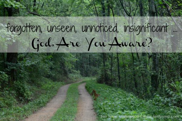 God Are You Aware www.terilynneunderwood.com