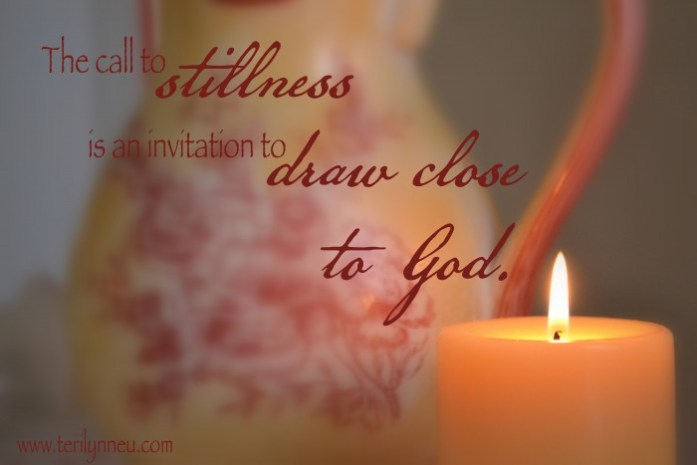 the practice of stillness