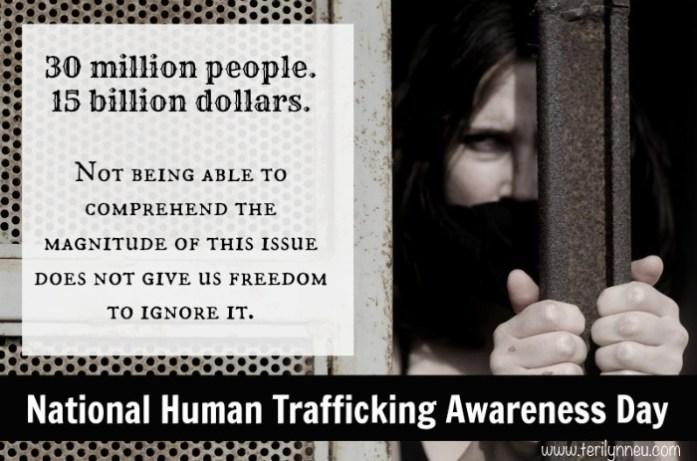 human trafficking awareness day 2013