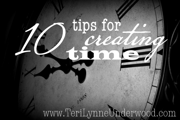 creating time www.terilynneunderwood.com