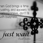 a time of waiting www.terilynneunderwood.com