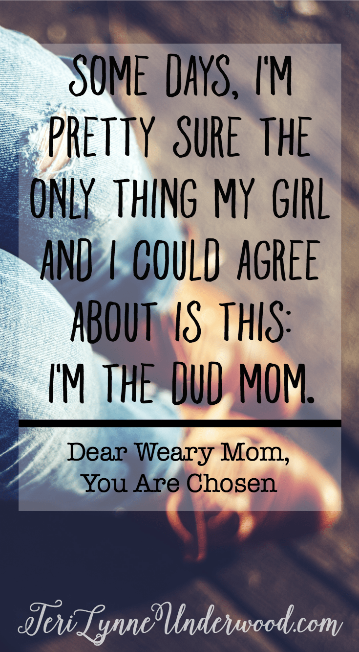 I want to be her first choice. I want to be the mom she would choose if she could. I want to be the fun mom, the wise mom, the caring mom, the always-amazing mom. But I'm really not. I'm the mom who regrets something from almost every day. I'm the mom who yelled when she should have retreated. I'm the mom who fussed when she should have laughed. I'm the mom who sees what isn't done instead of what is. I'm not the fun mom and definitely not the always-amazing mom.